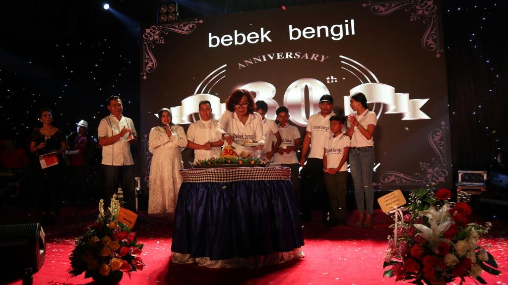Anniversary 30th Bebek Bengil Ubud