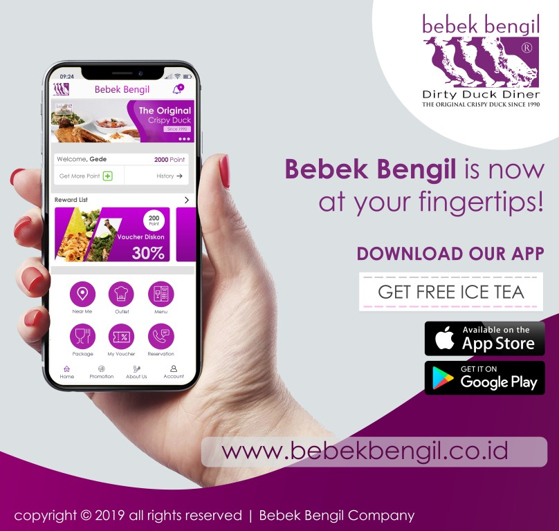 Bebek Bengil Mobile Application