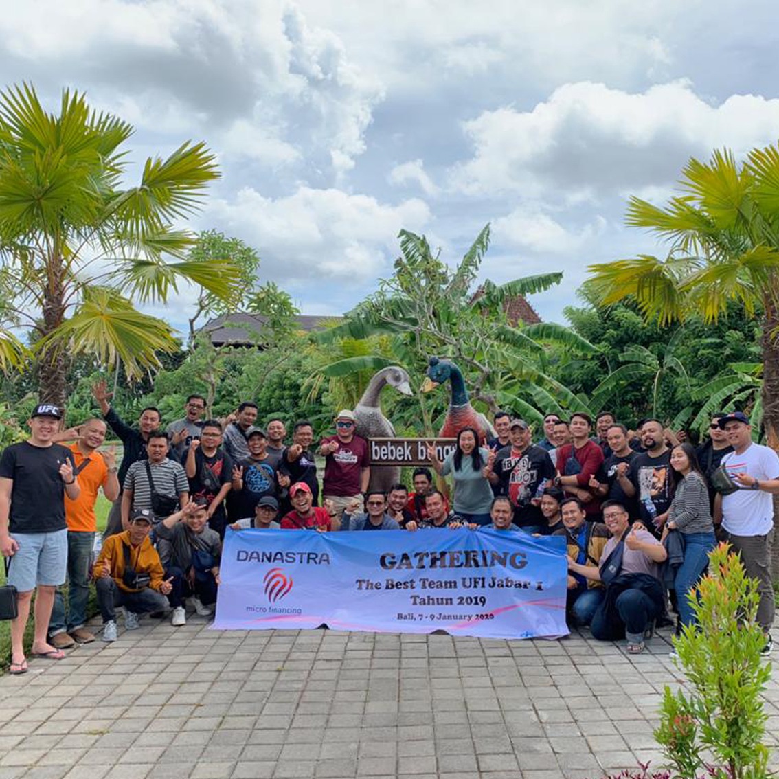 Gathering Danastra Microfinancing at Bebek Bengil Ubud